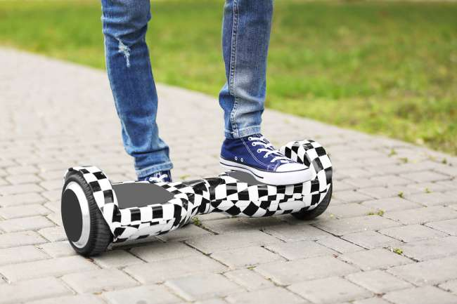 Mounting a Hoverboard