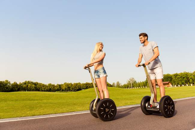 How to Drive a Segway