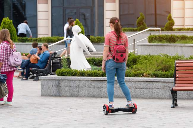 Places where you can ride a hoverboard