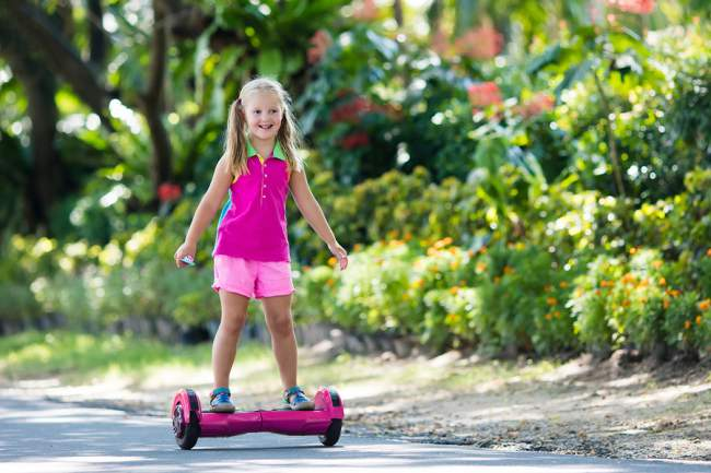 Pink Hoverboard Gift Idea