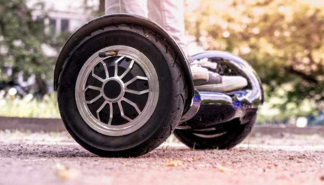 Wheel Size of off road Hoverboards