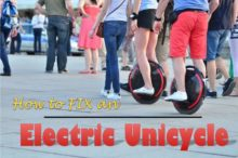 How to Fix an Electric Unicycle (Common Issues and Fixes)