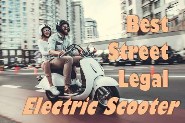 street legal electric scooter