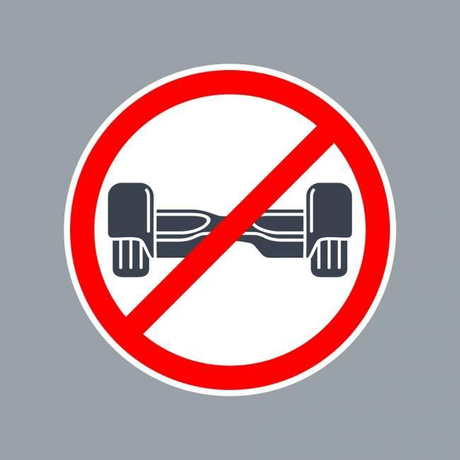 Hoverboard Ban