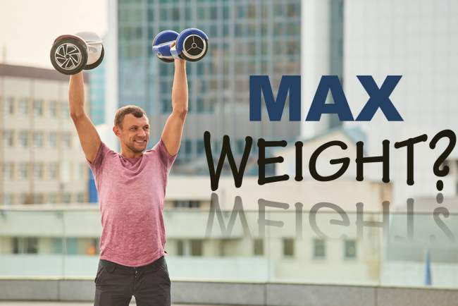 What is the max weight of hoverboard