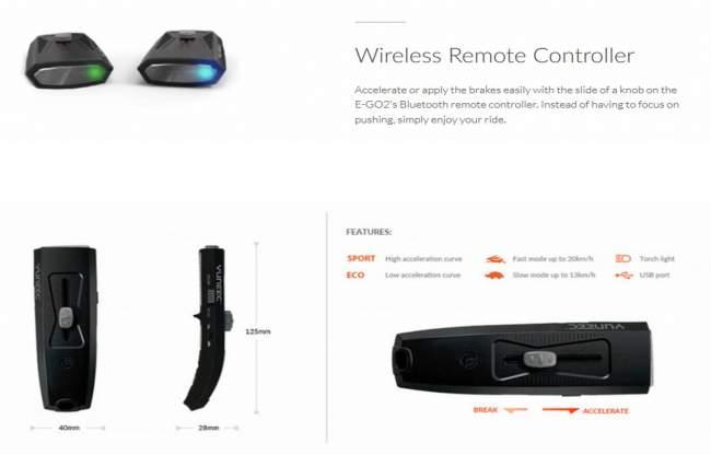 Yuneec E-Go 2 Remote Control