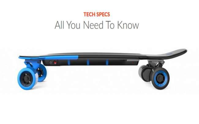 Tech Specs of Yuneec Ego 2