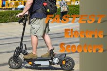 Whooosh!: The 5 Fastest Electric Scooters of 2018