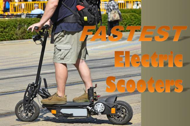 5 Fastest Electric Scooters of 2021 - Whooosh!