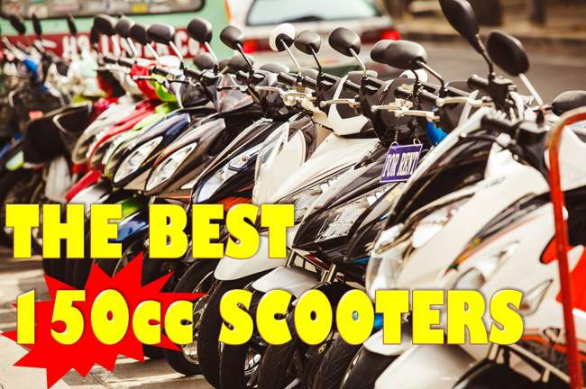 The [Top] 5 Best 150cc Scooters 2020: Cheap but Powerful!