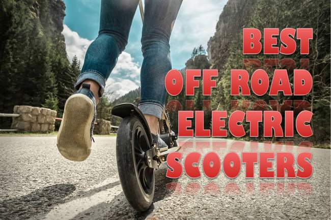 [Top] 5 Best Off Road Electric Scooters for Sale 2020