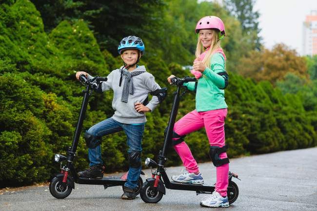 tips for riding scooters