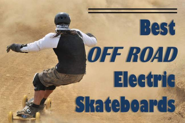 off road electric skateboard