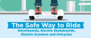 Ride hoverboards safely