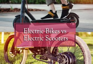 electric bikes vs electric scooters