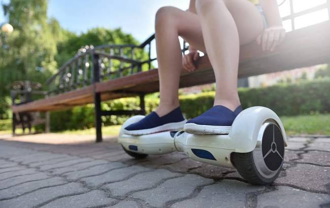 hoverboard beeps on uneven surfaces