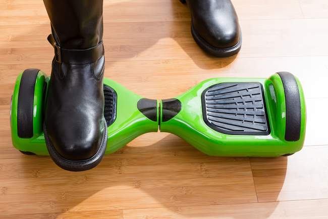 recalibrate the hoverboard