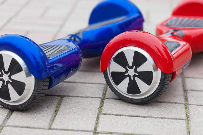 developing hoverboards