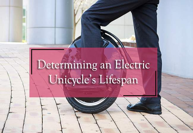 determining an electric unicycles lifespan