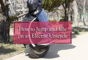 how to jump and idle on an electric unicycle